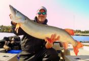Muskies   Husky the Musky  Kenora Ontario